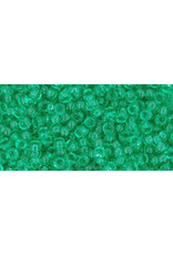 Toho 72B 11  Round 40g  Transparent Beach Glass Green
