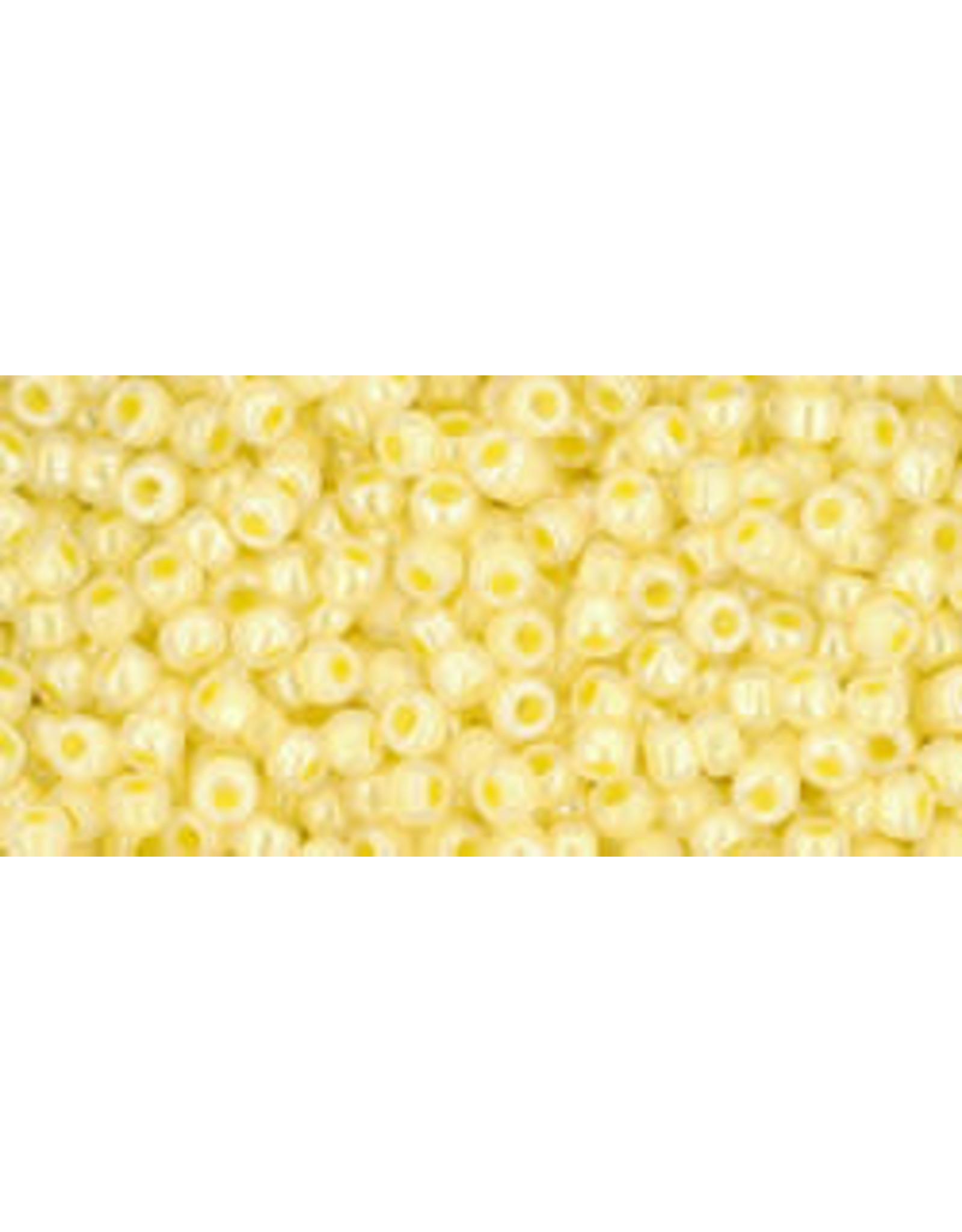 Toho 902 11  Round 6g Ceylon Lemon Chiffon Yellow
