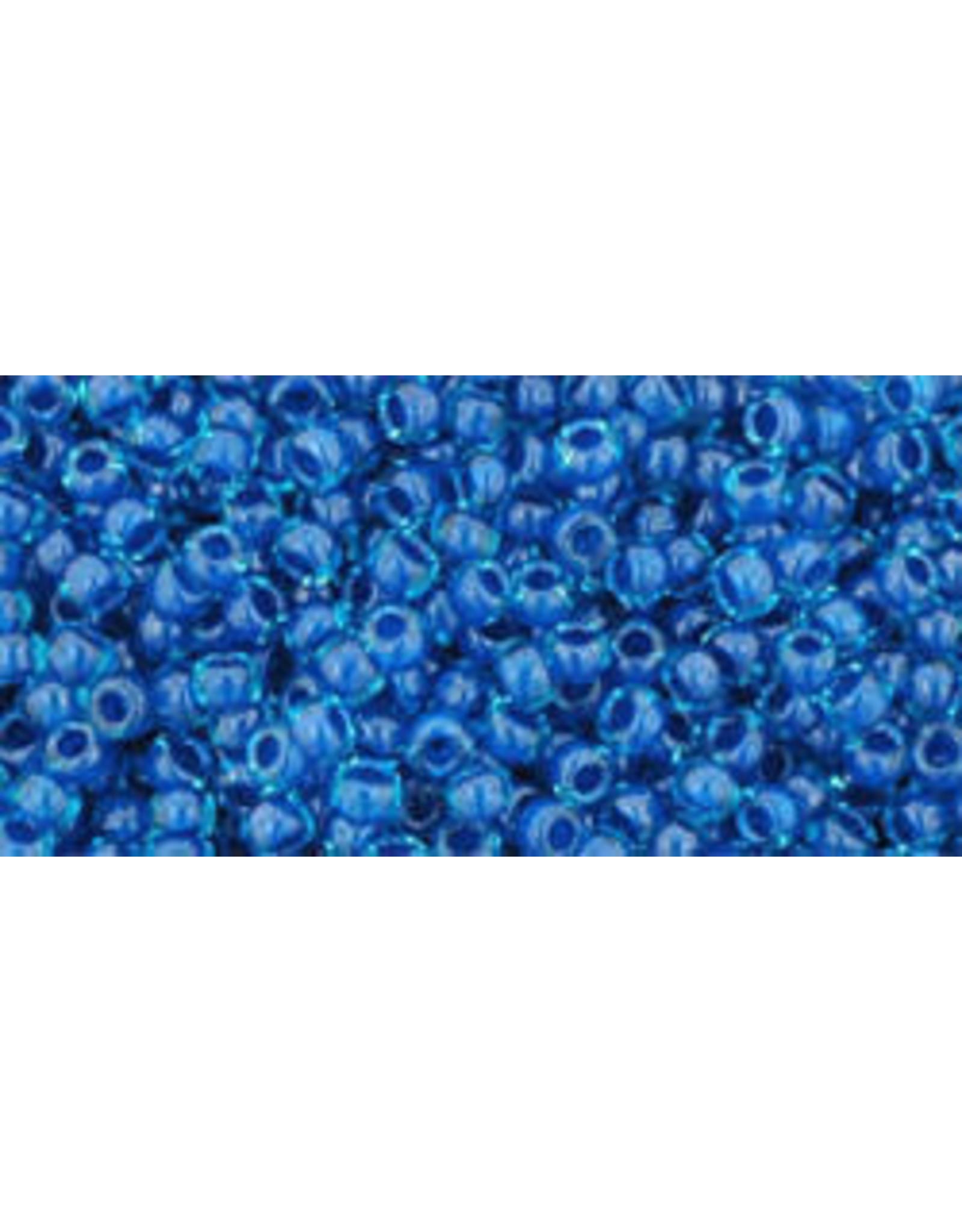 Toho 932 11  Round 6g Aqua Blue Capri c/l