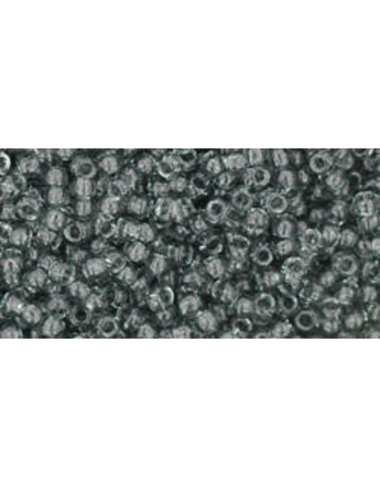 Toho 9b 11  Round 6g Transparent Grey