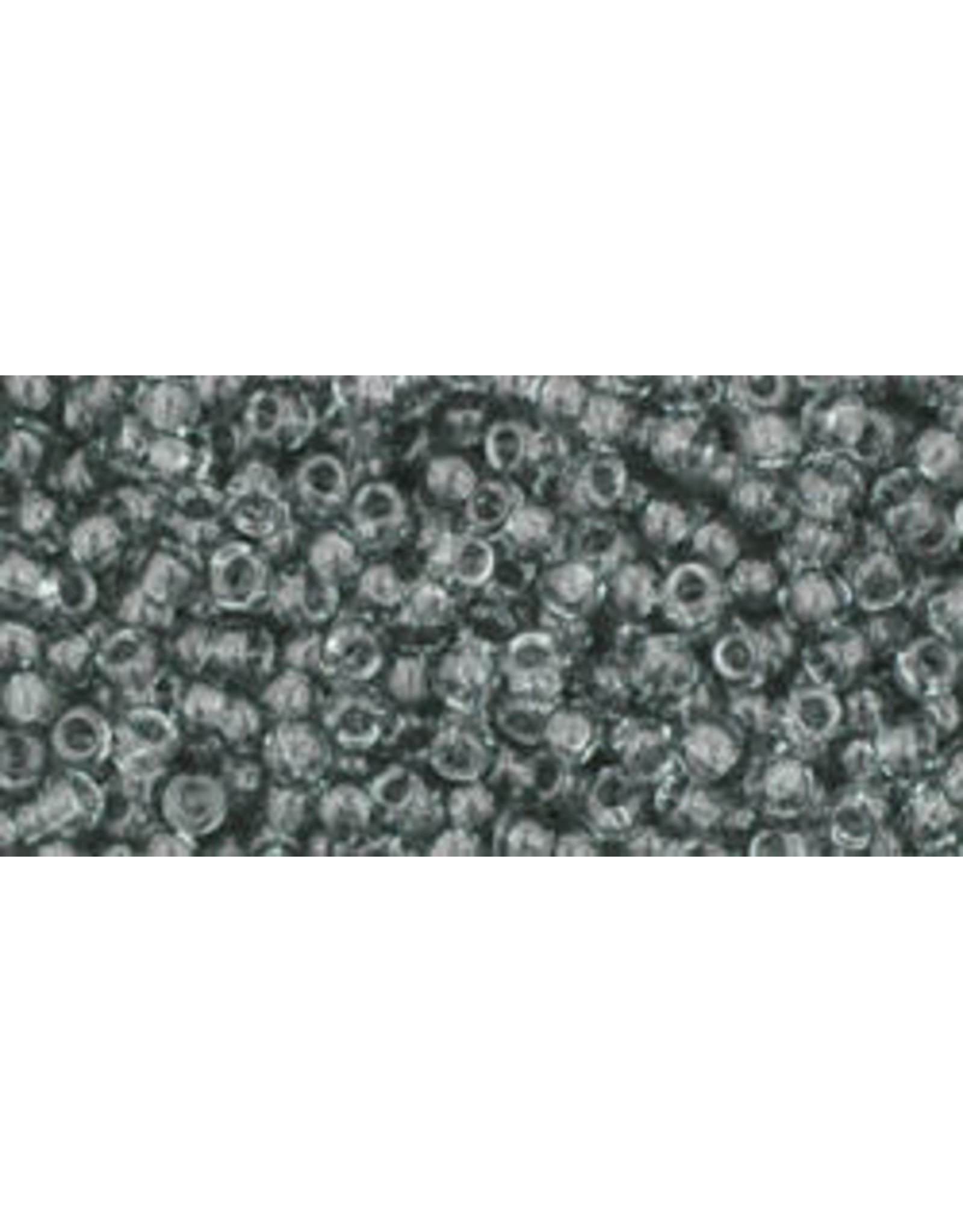 Toho 9B 11 Toho Round 40g  Transparent Black Diamond Grey