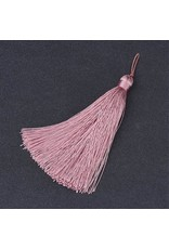 Dusty Rose Pink Tassel 105x11mm