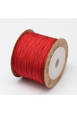 Chinese Knotting Cord .8mm Red x100m