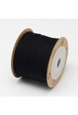 Chinese Knotting Cord .8mm Black x100m