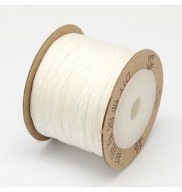 Chinese Knotting Cord .8mm White x100m