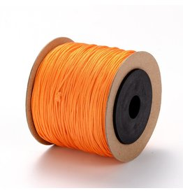 Chinese Knotting Cord .8mm Orange x100m
