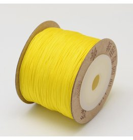 Chinese Knotting Cord .8mm Yellow x100m