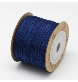Chinese Knotting Cord .8mm Navy Blue x100m