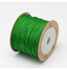 Chinese Knotting Cord .8mm Lime Green  x100m