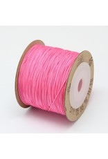 Chinese Knotting Cord .8mm Bright Pink x100m