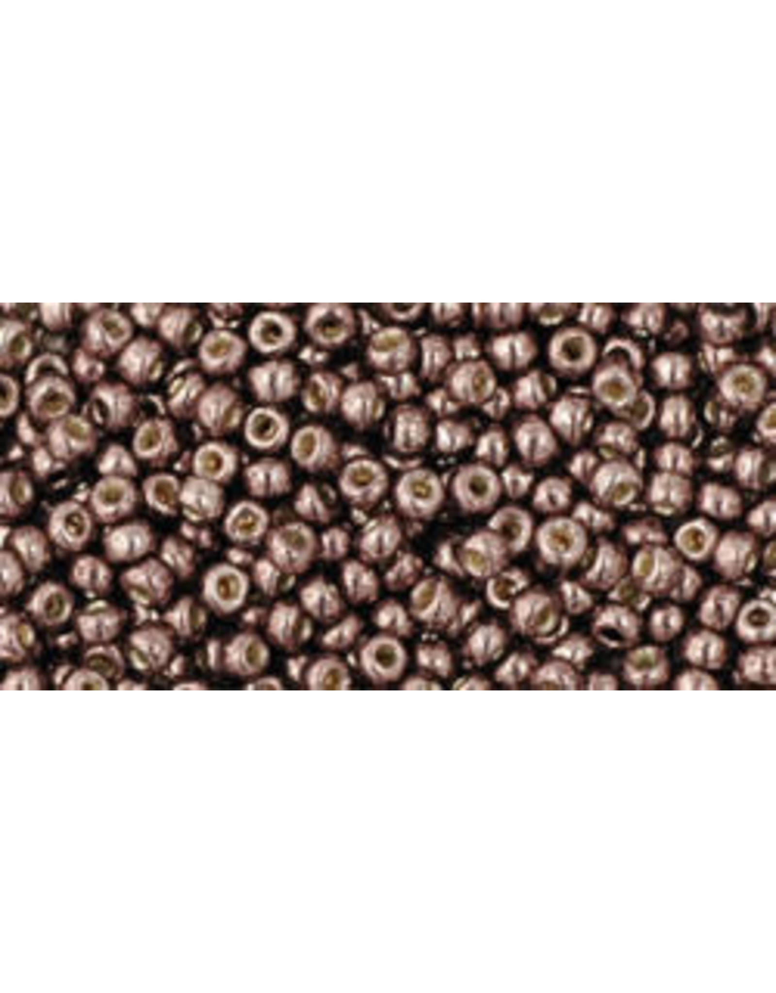 Toho pf556 11 Toho Round 6g Mauve Purple Meatllic