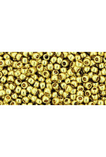 Toho pf559 11 Toho Round 6g Light Yellow Gold Metallic