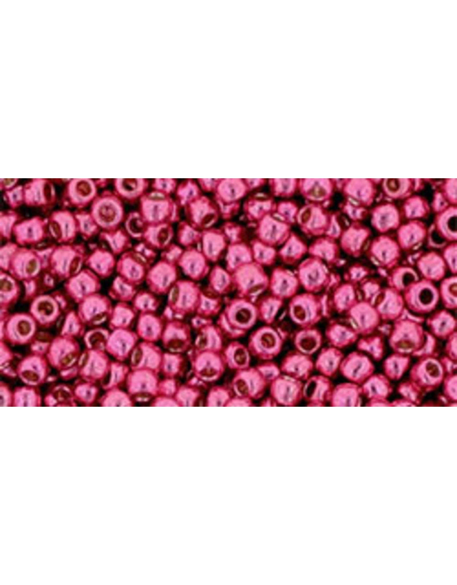 Toho pf563 11 Toho Round 6g Pink Orchid Metallic