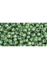 Toho pf570 11 Toho Round 6g  Mint Green Metallic