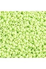 Czech 1012 10   Seed 20g Opaque Light Pale Green