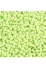Czech 1012B 10 Czech Seed 250g Opaque Pale Light Green
