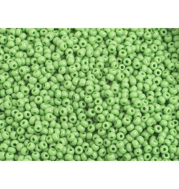 Czech 1014B 10 Czech Seed 250g Opaque Light Green
