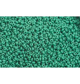 Czech 1020 10 Czech Seed 20g Opaque Medium Dark Green