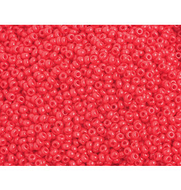 Czech 1026B 10 Czech Seed 250g Opaque Medium Red