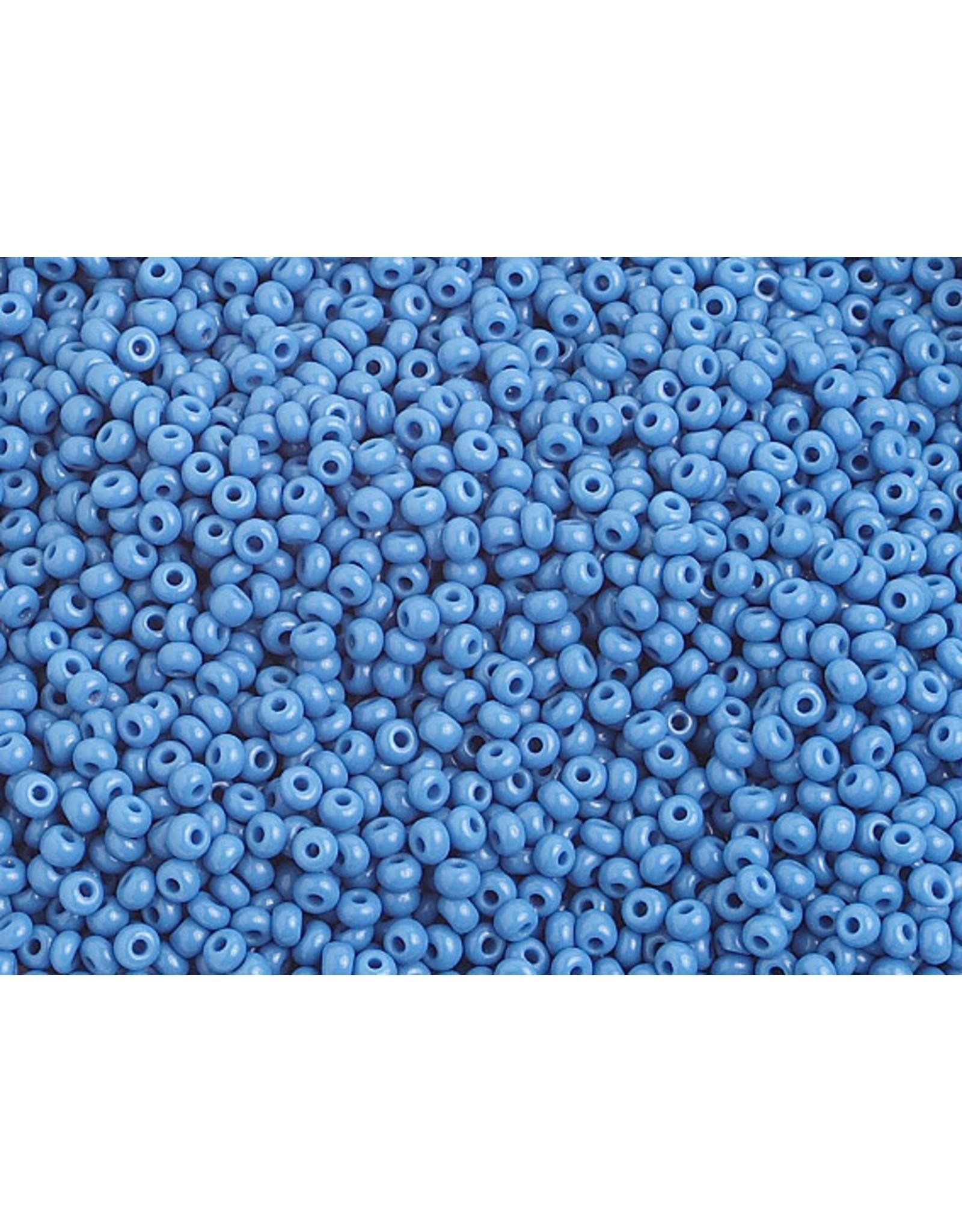 Czech 1036B 10 Czech Seed 250g Opaque Dark Blue