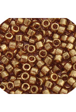 Miyuki db115 11 Delica 3.5g Light Topaz Gold Brown Lustre