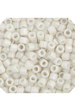 Miyuki db211b 11 Delica 25g Opaque Alabaster White Lustre