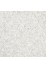 Miyuki db222 11 Delica 3.5g White Opal AB