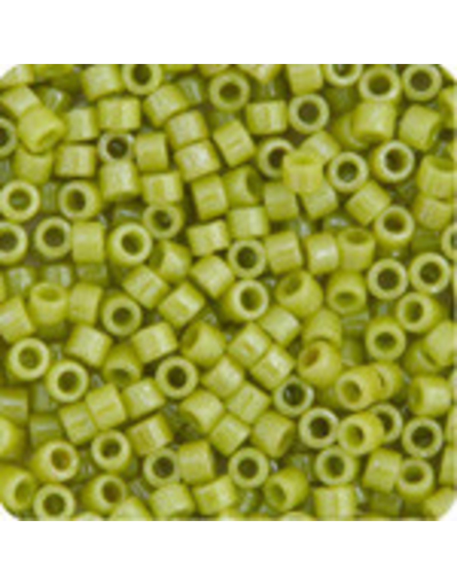 Miyuki db262 11 Delica 3.5g Opaque Chartreuse Green Lustre