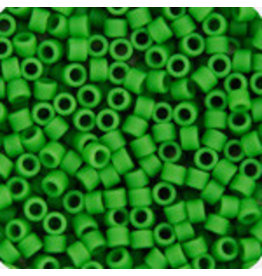Miyuki db754b 11 Delica 25g  Opaque Green Pea Matte