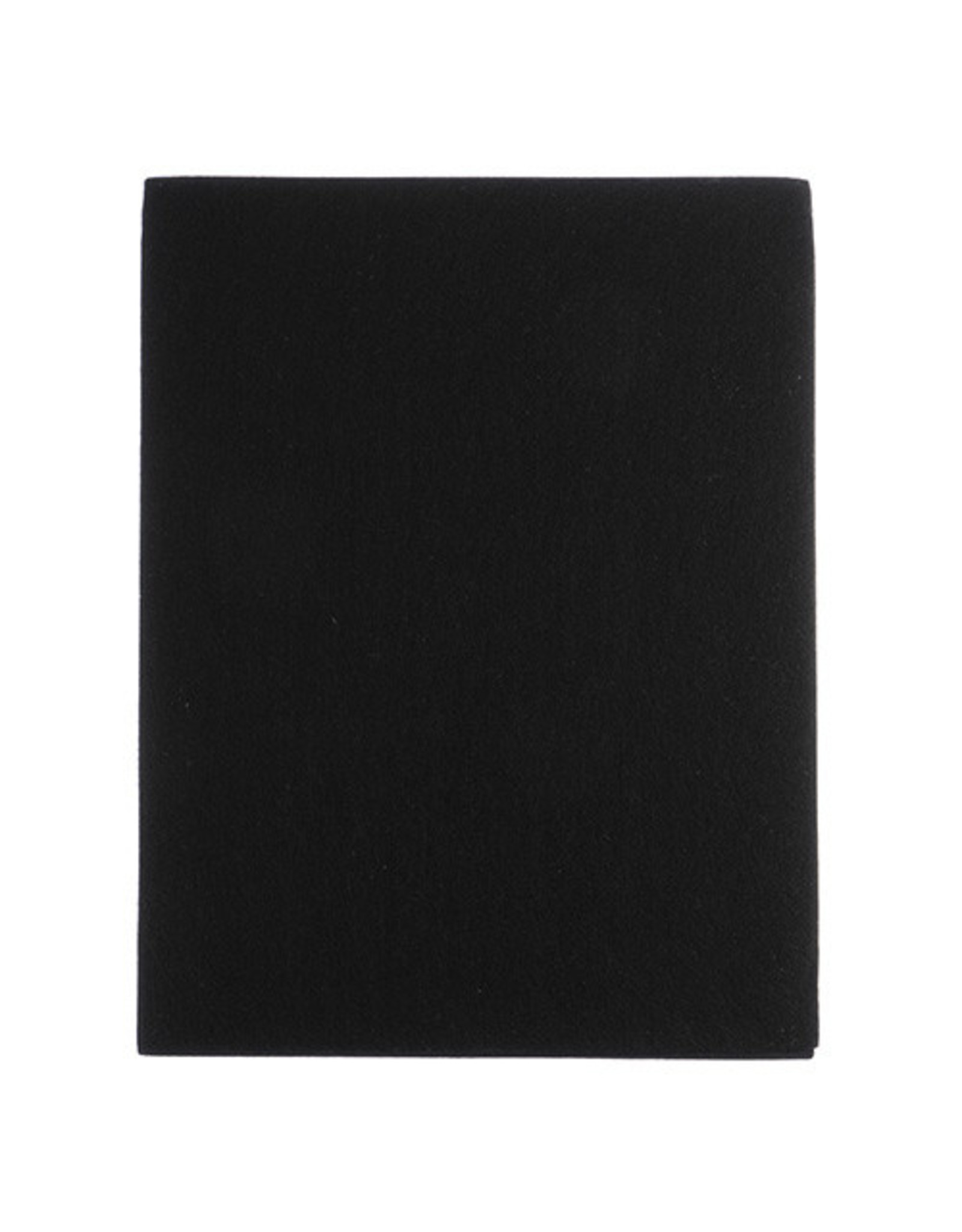 "Felt Beading Foundation Black 1.5mm thick 8.5x11"" Sheet"