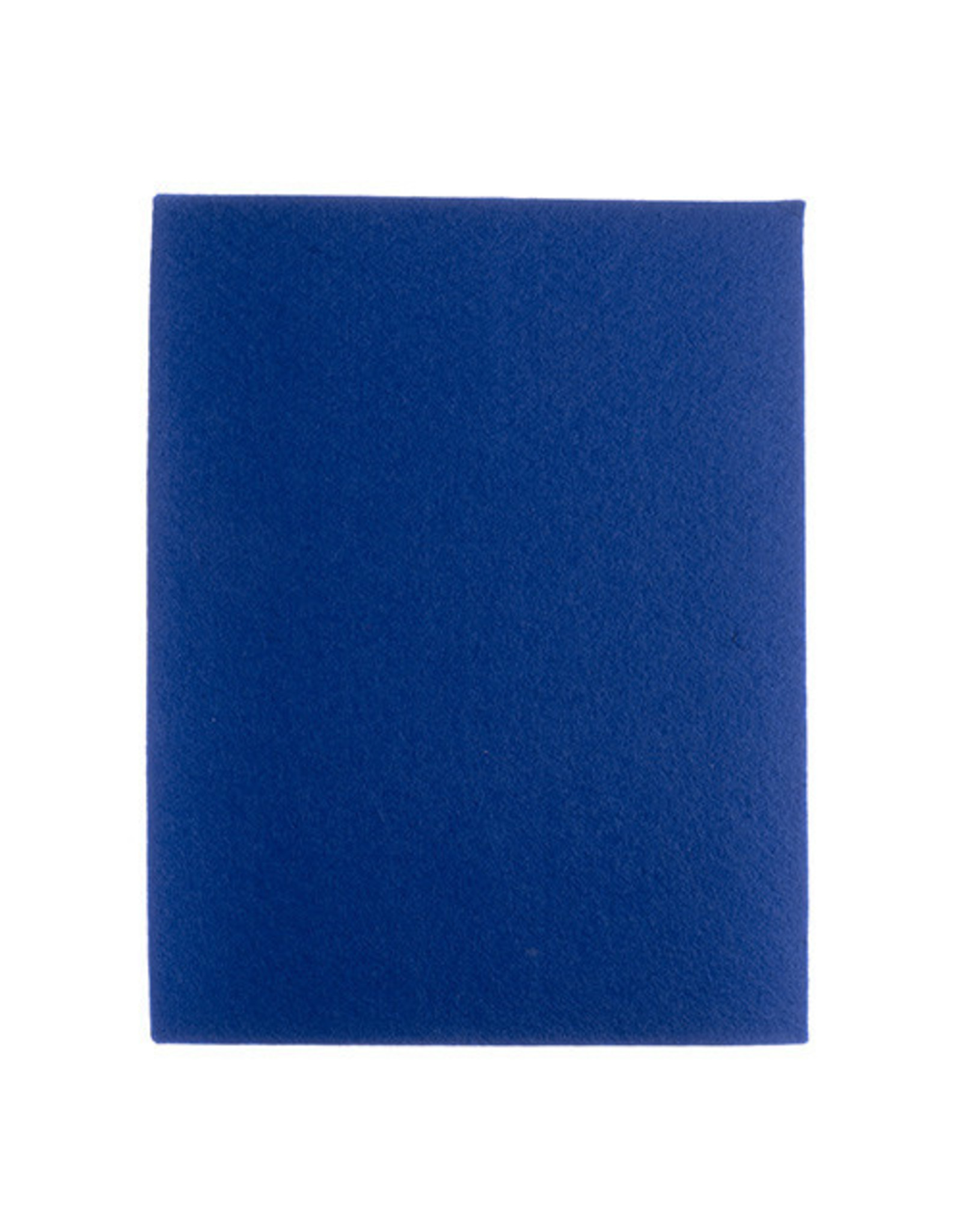Felt Beading Foundation Blue 1.5mm thick 8.5x11""