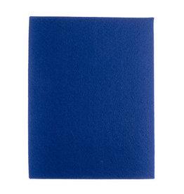 "Felt Beading Foundation Blue 1.5mm thick 8.5x11"""