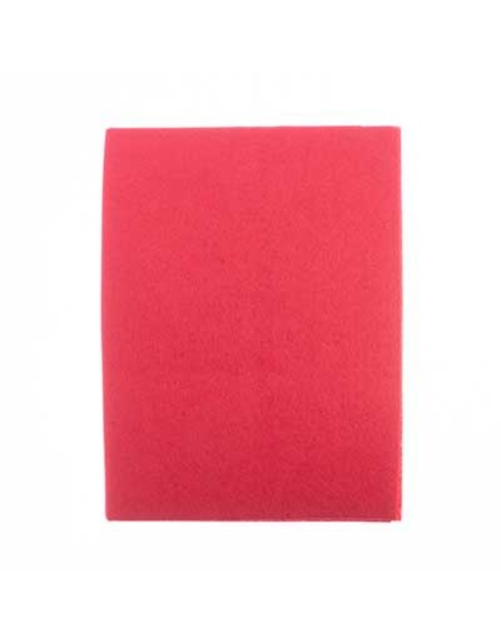 """Felt Beading Foundation Bright Red 1.5mm thick 8.5x11"""""""