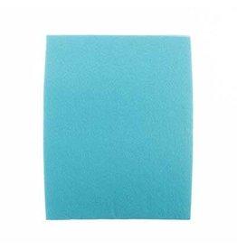 "Felt Beading Foundation Sky Blue 1.5mm thick 8.5x11"""