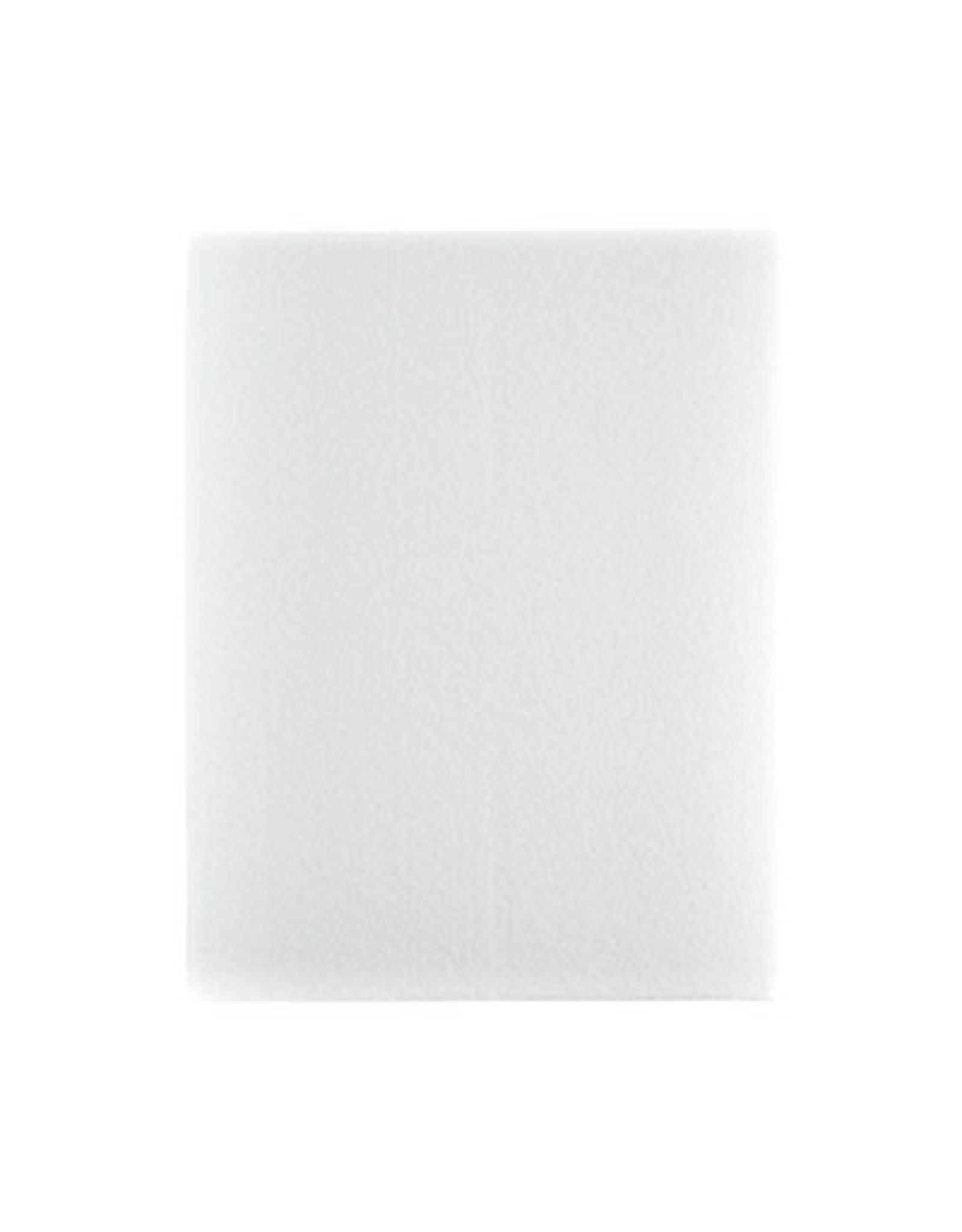 "Felt Beading Foundation White 1.5mm thick 8.5x11"""