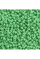 Czech 1018 10   Seed 20g  Opaque Medium Green