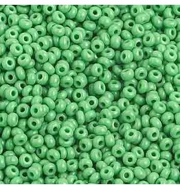 Czech 1018B 10 Czech Seed 250g Opaque  Medium Green