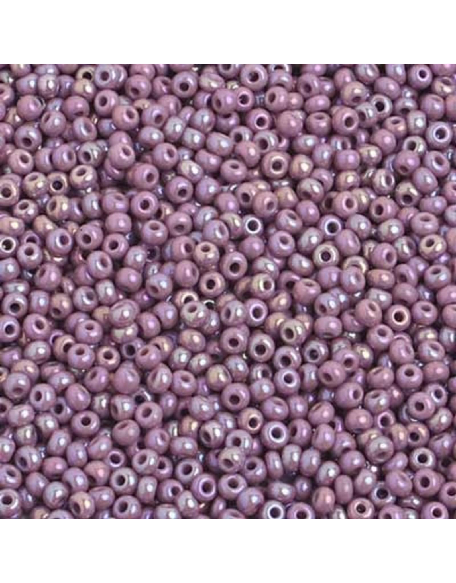 Czech 2310B 10   Seed 250g Opaque Mauve Purple AB