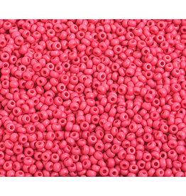 Czech *2331 10 Czech Seed 10g Opaque Red Matte