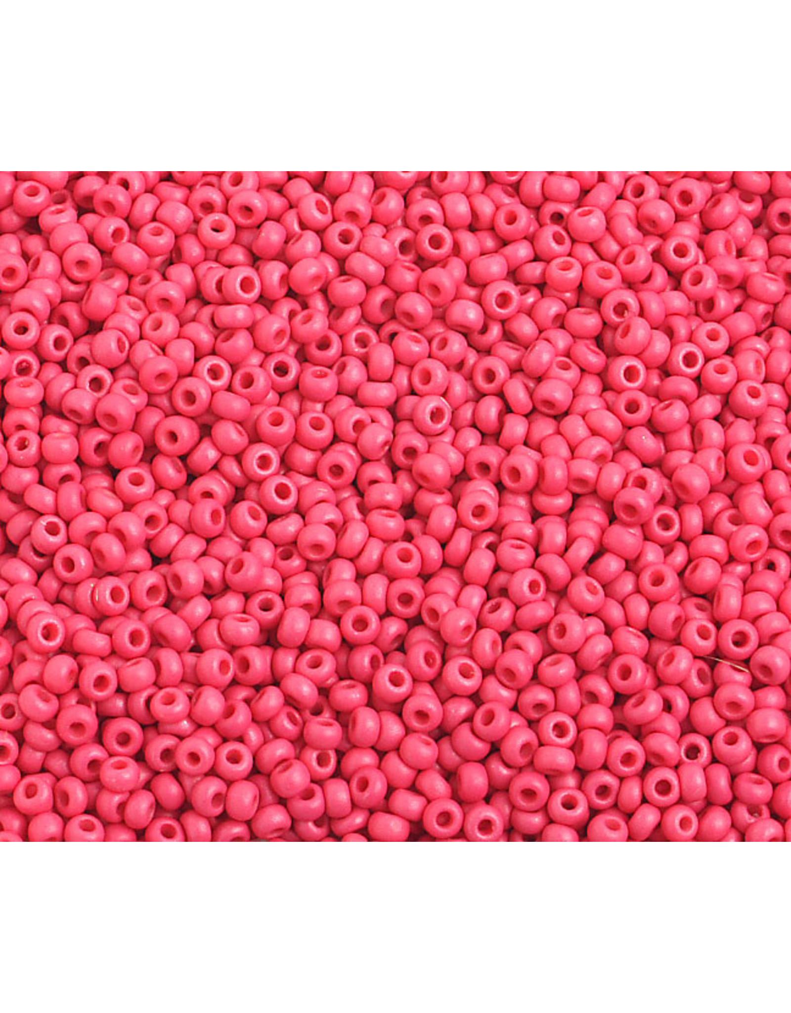 Czech *2331B 10 Czech Seed 125g Opaque Red Matte