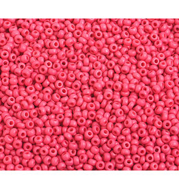 Czech *2331B 10 Czech Seed 125g Opaque Red Matte