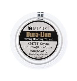 Miyuki Dura-Line White .15mm x50m