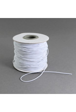 Cloth Stretch Cord White .8mm x100m
