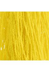 Czech 1742 10/0 3 Cut   Seed Hank 25g Opaque Yellow