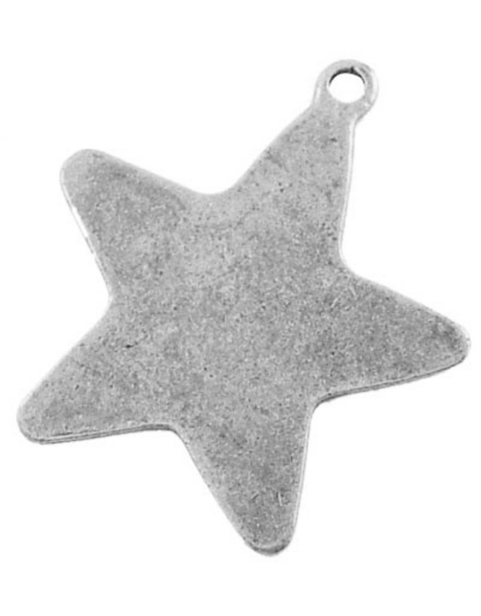 Star Antique Silver 28mm  x10  NF