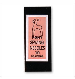 Beading Needle Size 10 Pony Brand  x25