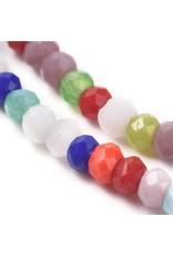 2x1mm Rondelle Mixed Colours x195