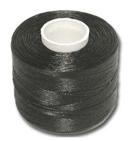 "Nymo ""D""    Black Large Bobbin 229m"