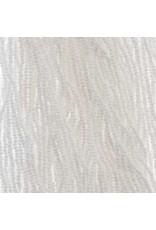 Czech 29309 13/0 Charlotte Cut   Seed Hank 12g Opaque White