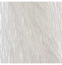 Czech 29309 13/0 Charlotte Cut Czech Seed Hank 12g Opaque White